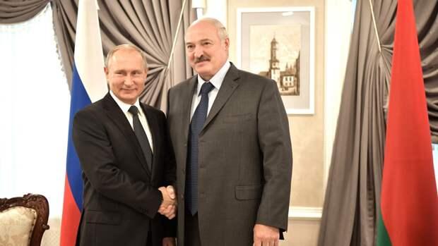 Путин и Лукашенко договорились встретиться в ближайшее время