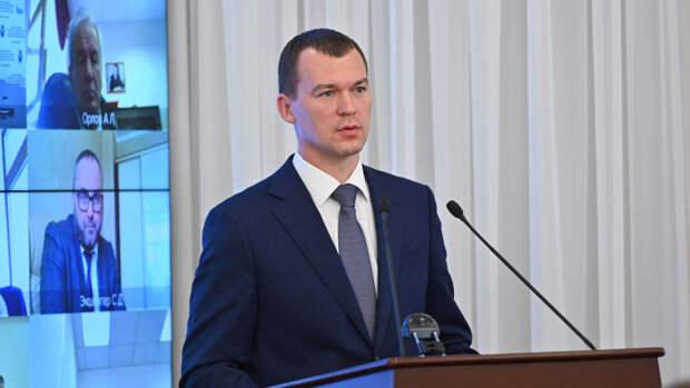 Дегтярев назвал рекордной явку на выборах в Хабаровском крае