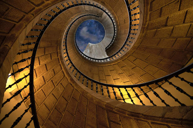 Staircase to heaven by Bob Photomax on 500px.com