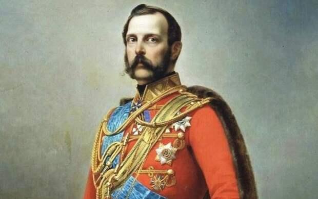 Портрет императора Александра II. Художник: Николай Лавров.