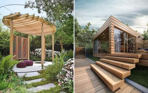 Беседка на даче: как организовать красивую и удобную зону отдыха на свежем воздухе