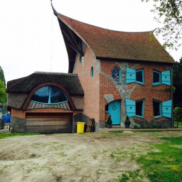 6 фото несуразных бельгийских домов, которые как будто строил слепой