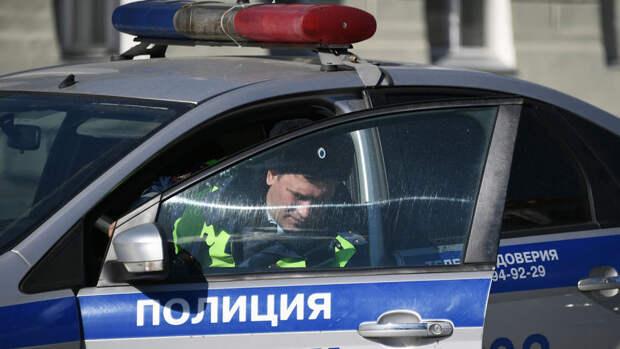 Автомобиль ДПС наехал на велосипедистку в Новосибирской области