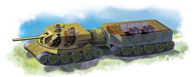 Российский двухзвенный танк будущего: две головы лучше