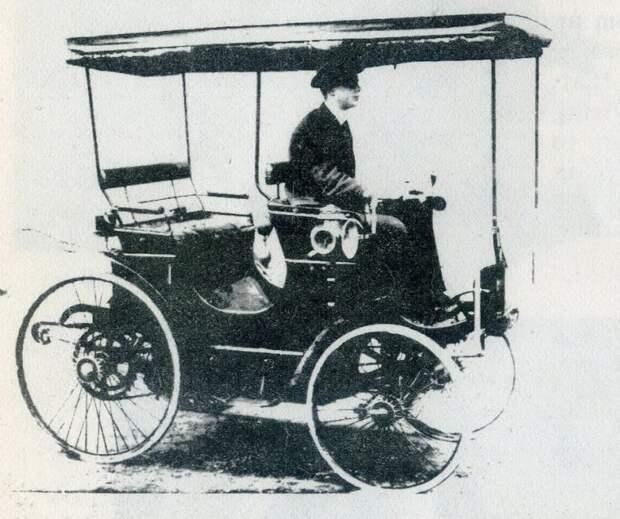 Первым автомобилем мистера Роллса был 'Пежо'. В 1896-м это звучало гордо rollce-royce, авиация, авто, автоистория, история, летчик, факты, чарльз роллс