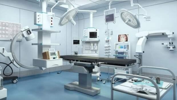 Около 2,5 тыс единиц медтехники поставят в больницы Подмосковья в 2019 году