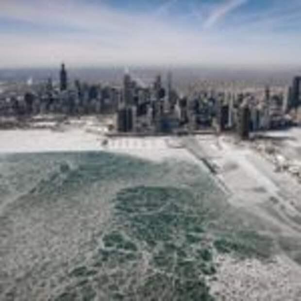 Фотографии оледеневшего США: как синоптики ждут аномальные морозы до −50 °С