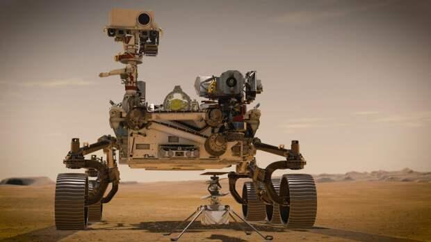 Марсоход Perseverance впервые получил кислород на Красной планете