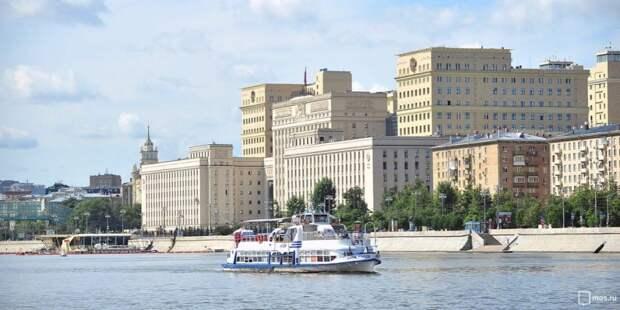 Речной маршрут запустят по Москве-реке от Печатников в 2022 году