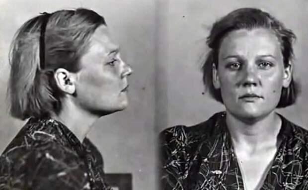 Агнесса Подмазенко во время ареста.