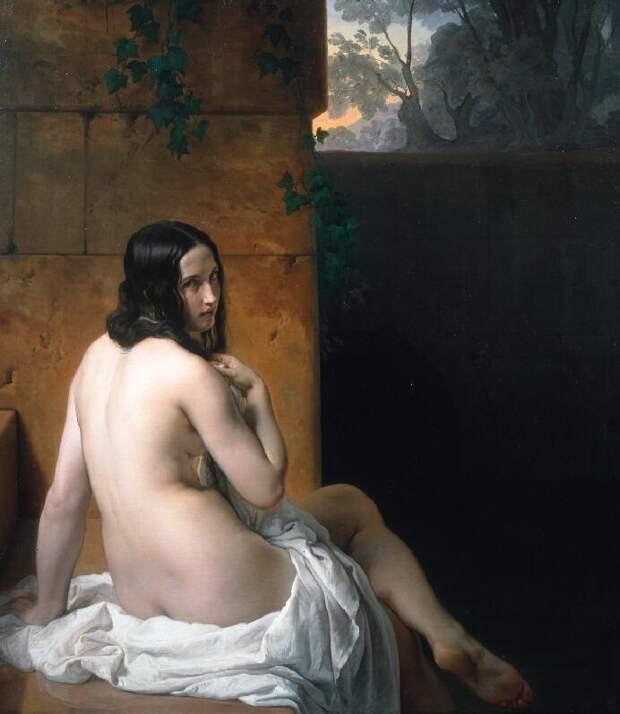 Объяснение истории «Обвинения визмене», одной изсамых чувственных работ вмировой живописи