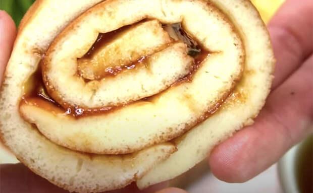 Творожный десерт без использования духовки. Сворачиваем и готовим на сковороде