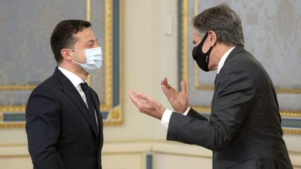 Карасев назвал последствия визита Блинкена в Киев для украинских олигархов