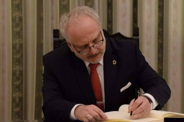 Президент Латвии заявил, что Вторая мировая война была для страны «чужой»