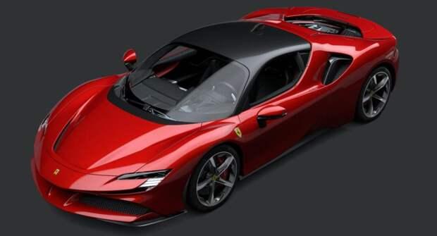 На тестах был замечен прототип гибридного суперкара Ferrari