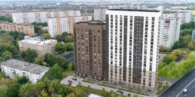 Новый реновационный дом на Верхних Полях / Фото: stroi.mos.ru