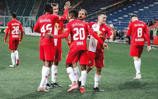 «РБ Зальцбург» выиграл чемпионат Австрии в 8-й раз подряд