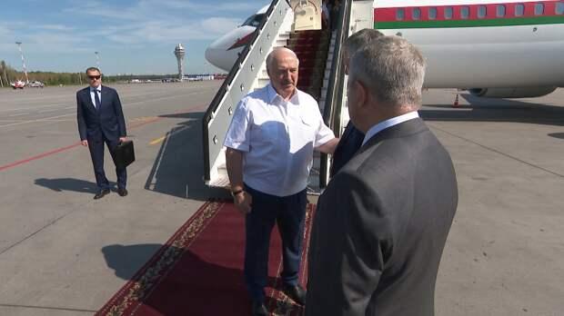 Лукашенко встречается с Путиным в Санкт-Петербурге