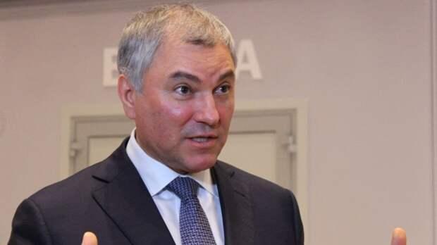 Володин призвал запретить анонимное использование интернета