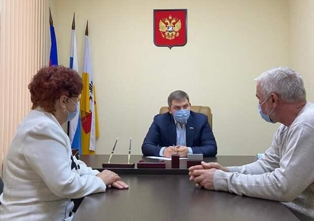 Депутат Госдумы Дмитрий Ламейкин провел прием граждан в Краснодаре