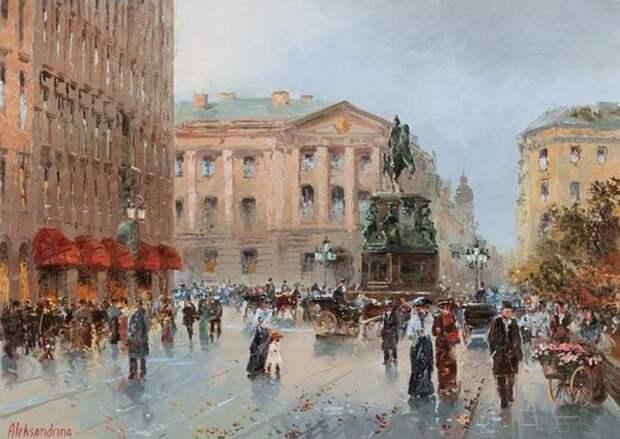 художник Ирина Александрина картины - 16