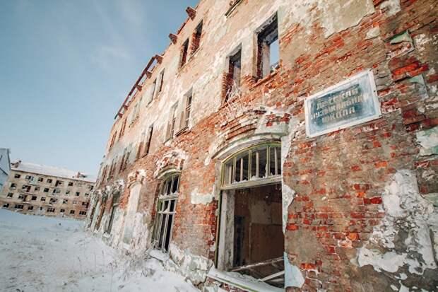 Закрытие многих соцобъектов в Воркуте называют «уплотнением». Но здесь, похоже, учреждение просто исчезло
