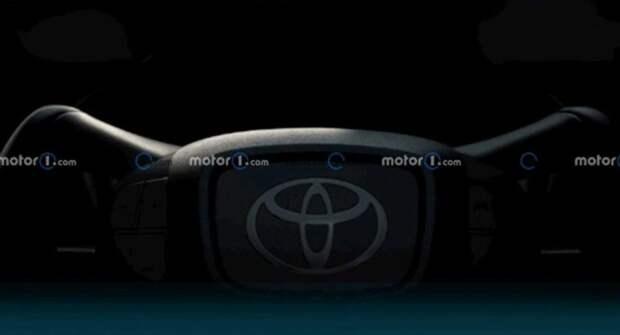 Toyota выпустила тизер руля электрического кроссовера Beyond Zero