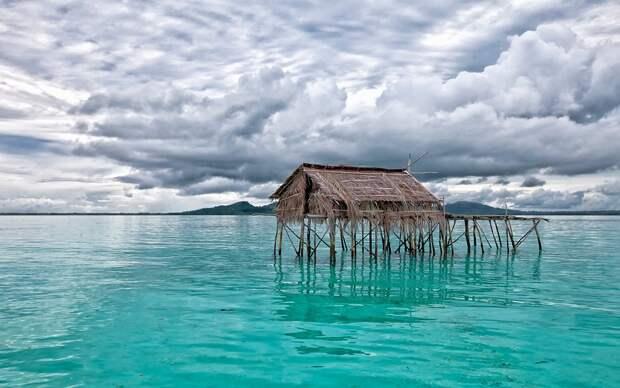 Они утонули: в Индонезии скрылись под водой два острова