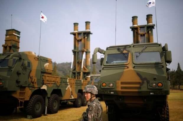 Южная Корея запустила собственную баллистическую ракету с подводной лодки