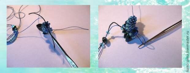 Мастер-класс плетём морского дракончика, фото № 7