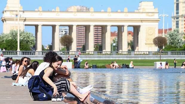 Синоптик спрогнозировал повышение температуры в Москве в выходные