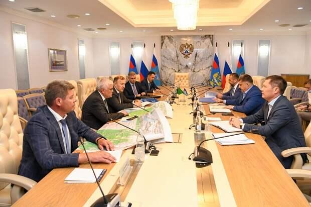 В Москве состоялась встреча Главы Адыгеи и руководителя Федерального дорожного агентства