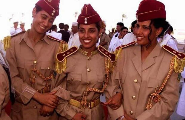 Представительницы отряда Каддафи