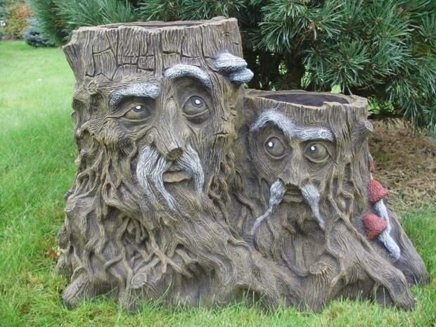 Забавные скульптуры для сада: веселые идеи для вдохновения 1