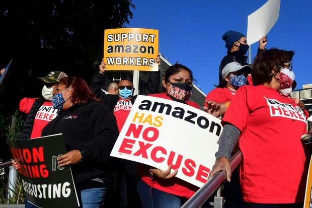 Профсоюз подал официальный протест против результатов голосования в Amazon