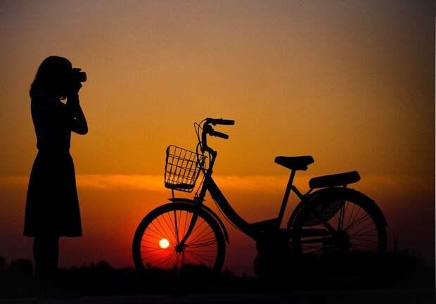 Велосипед, Дома, Свет, Легкие Пути, Путешествие