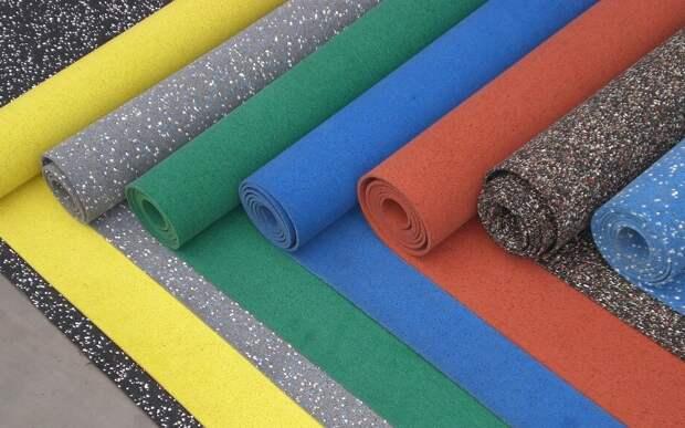 Рулонные и сборные напольные покрытия