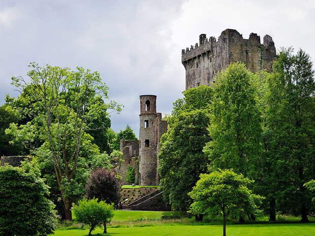 Замок Бларни в Ирландии. 10 мест для загадывания желаний
