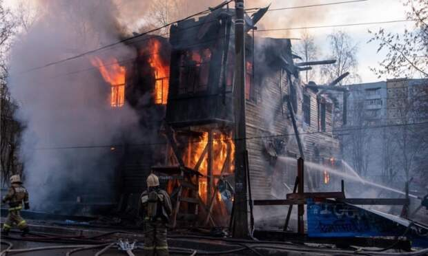 Полиция выяснила, что пожар вдоме Брагина вАрхангельске произошёл из-за подростка, бросившего окурок