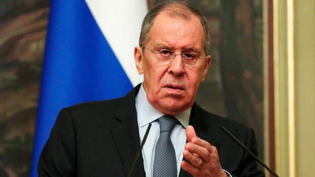 Лавров заявил, что Россия в диалоге с США сама определит красные линии
