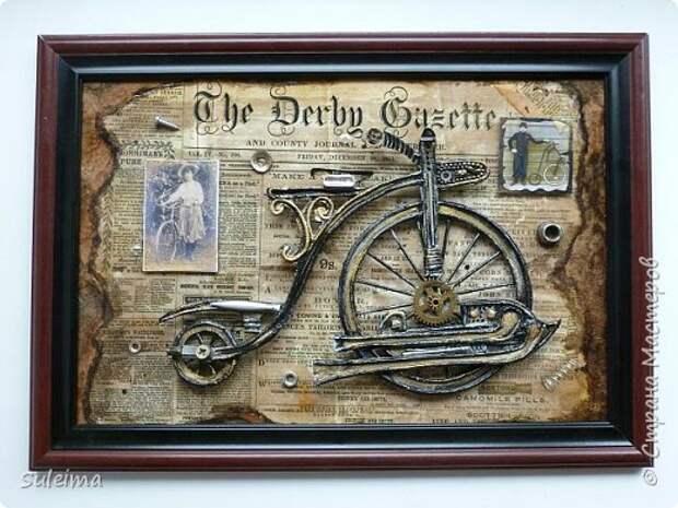 Ретро велосипед (стимпанк)