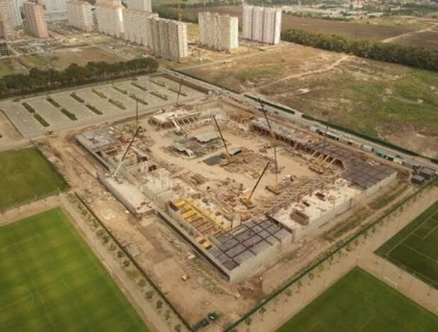 В Краснодаре появится новый стадион