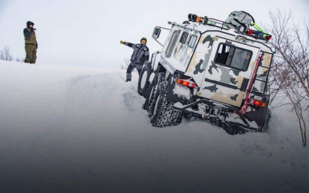 15 самых крутых вездеходов для езды по снегу