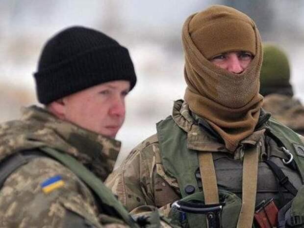 На Украине военные разгромили пансионат на границе с Крымом