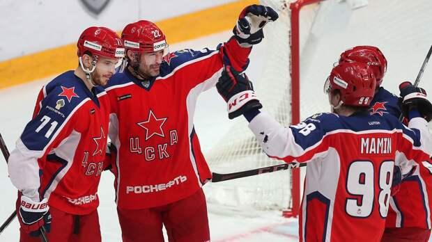 Шайба Окулова в овертайме принесла ЦСКА победу над СКА