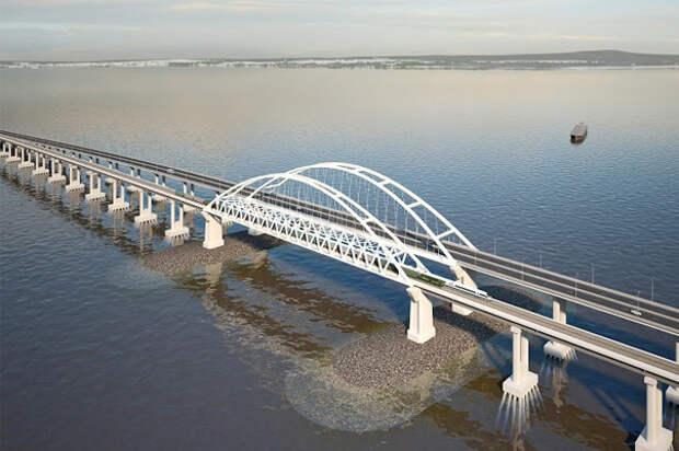 «Гугл» признал Керченский мост со спутника (видео)