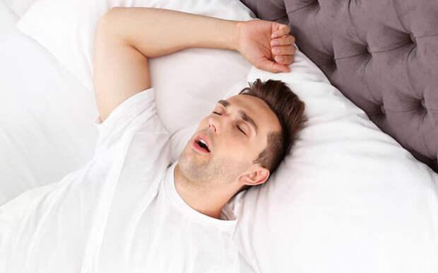 Апноэ сна - остановка дыхания во сне