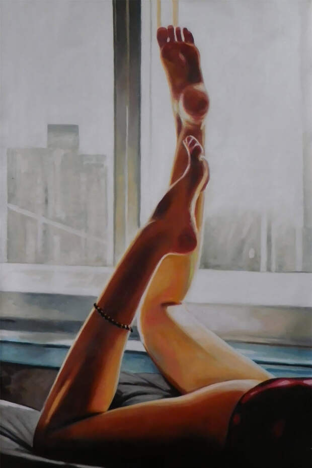 Картины маслом: чувственные работы Томаса Салиота