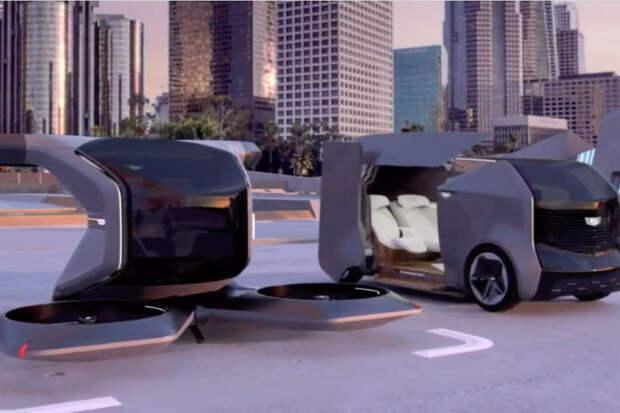 General Motors представила концепт летающего автомобиля Cadillac