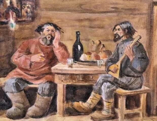 Русский запой длиной в 500 лет